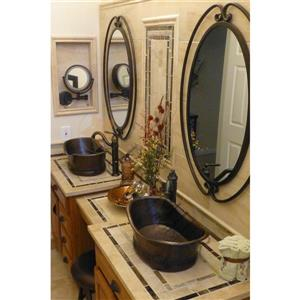 Premier Copper Products Copper Bath Tub Sink