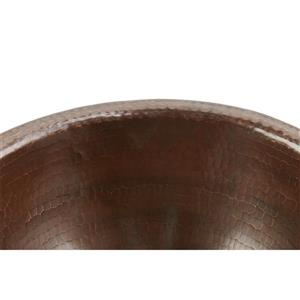 Premier Copper Products Round Sink - 14-in - Copper
