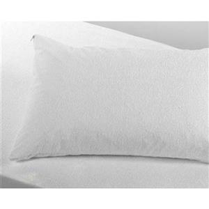 Milano Collection 20-in x 36-In White SilverClear Waterproof Pillow Protector