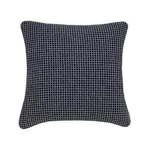 Millano Collection Navy Decorative Waffle Cushion