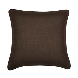 Millano Collection Brown Decorative Tweed Cushion