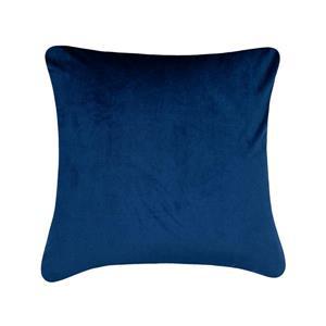 Millano Collection 18-in Blue Cotton Decorative Cushion