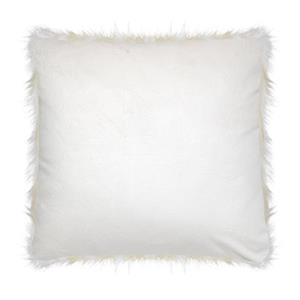 Millano Collection Ostrich Faux Fur Decorative Cushion