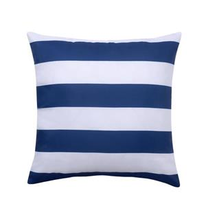 Millano Collection Blue and White Outdoor Stripe Cushion
