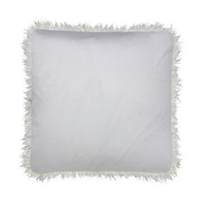 Millano Collection White Faux Fur Decorative Cushion
