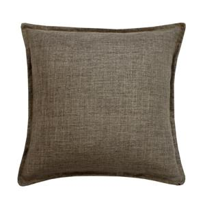 Millano Collection Taupe Linen Decorative Cushion