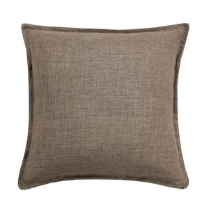 Millano Collection Beige Linen Decorative Cushion