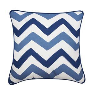 Millano 18-in Brown and Taupe Herringbone Welton Decorative Cushion