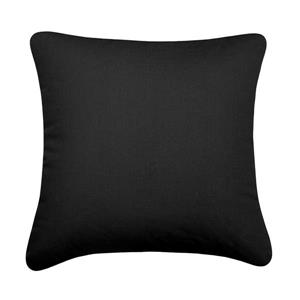 Millano 18-in Black Whippet Decorative Cushion