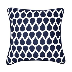 Millano Collection Taylor Blue and White Decorative Cushion
