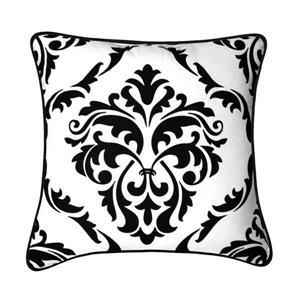 Millano Collection Mesa 18-in White Decorative Cushion