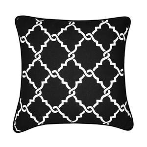 Millano Collection Tesla Black and White Decorative Cushion