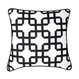 Millano Collection Sequence Black Decoractive Cushion