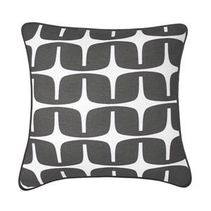 Millano Collection Liberty 18-in Grey Decorative Cushion