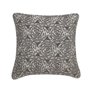Millano 18-in Gray Channel Decorative Cushion