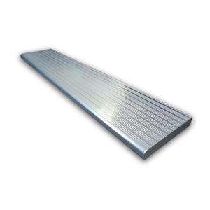 Pylex 9.75-In 36.00-In Silver Aluminium Stair