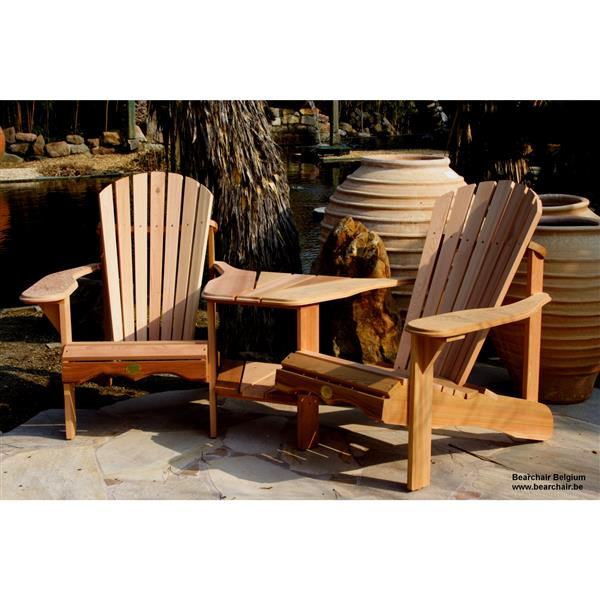 Terrific The Bear Chair Company Outdoor Chairs 40 In Set Of 2 Red Cedar Creativecarmelina Interior Chair Design Creativecarmelinacom