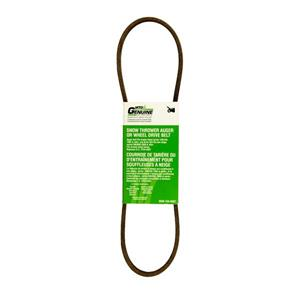 MTD Genuine Parts 0.38-in Two-Stage Auger and Wheel Drive Belt for Snowblowers