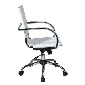 Work Smart™ Trinidad White Office Chair