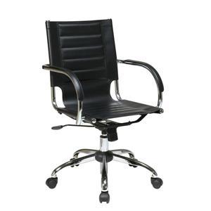 Work Smart™ Office Star Black Trinidad Office Chair