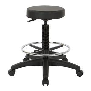 Work Smart™ 33.00-in x 13.50-in Black Adjustable Stool