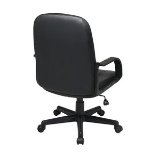 Work Smart™ Black Leather Chair