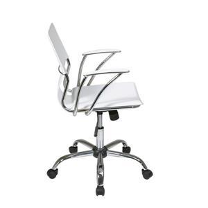 Ave Six Dorado 21.50-in x 17-in WhiteOffice Chair