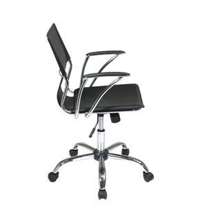Ave Six Dorado 21.50-in x 17-in Black Office Chair