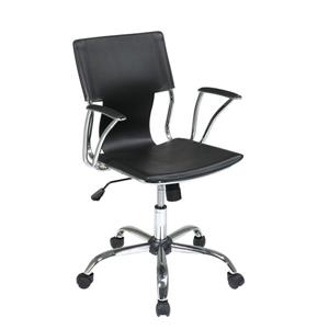 Ave Six Dorado 21.50-in x 17-in Black Office Chair