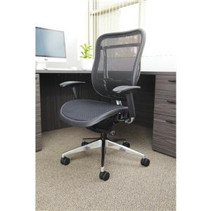 Space Seating® Black High Back Chair