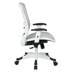 Space Seating® White Mesh Office Chair