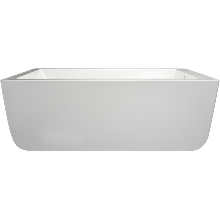 Jacuzzi Primo 66 In L X 36 In W X 23 In H Oyster Acrylic Rectangular Whirlpool Tub With Reversible Drain Lowe S Canada