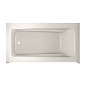 Jacuzzi Primo 60-in L x 30-in W x 20.25-in H White Acrylic Rectangular Skirted Bathtub with Left-Hand Drain