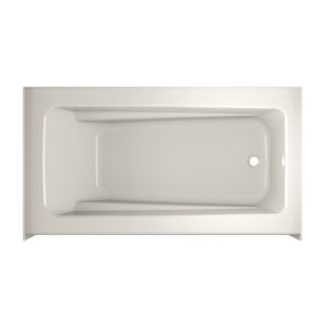 Jacuzzi Primo 60-in L x 30-in W x 20.25-in H White Acrylic Rectangular Skirted Bathtub with Right-Hand Drain