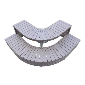 Canadian Spa Company Aluminum 62.0-in Hot Tub and Spa Steps
