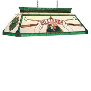 RAM Game Room Products CF Billiard 44-in x 15-in Green 4-Light Pool Table Light