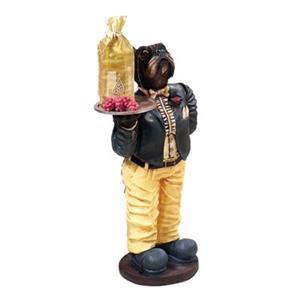 Dog Waiter Game Room Decor Figurine