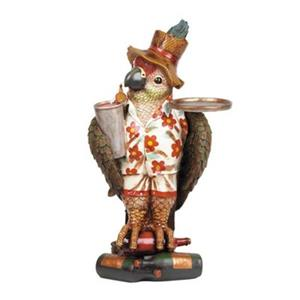 RAM Game Room Products 38-in Parrot Waiter Game Room Decor