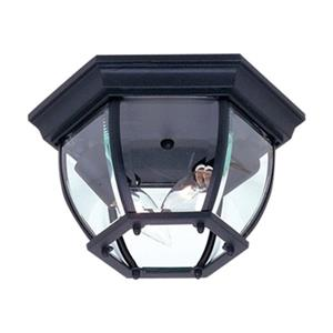 Artcraft Lighting Classico White 2-Light Outdoor Close To Ceiling Light