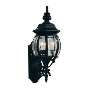 3-Light Classico Outdoor Sconce