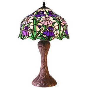 Warehouse of Tiffany Tiffany Tyle Iris Table Lamp