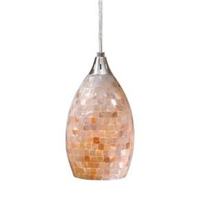 Milano 8-in High Teardrop Mini Pendant