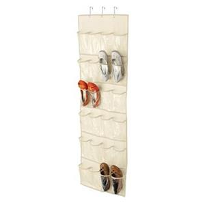 24 Pocket Over-the-Door Shoe Organizer