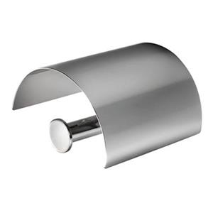 WS Bath Collections Duemila 5510 Polished Chrome Toilet Roll Holder