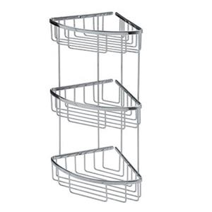 WS Bath Collections Filo 3-Tier Basket Shower Caddy