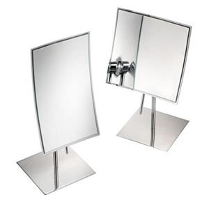 WS Bath Collections Stainless Steel Pure Table Mirror