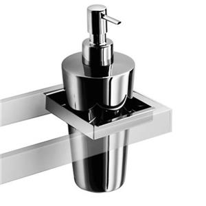 WS Bath Collections Skuara Stainless Steel Soap Dispenser