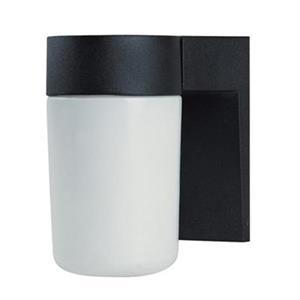 Amlite Lighting 7-in Black Outdoor Wall Lantern