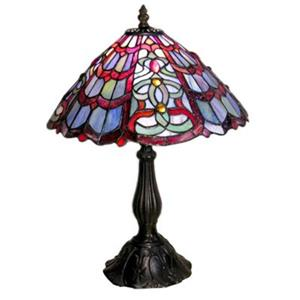 Warehouse of Tiffany Red Green Table Lamp
