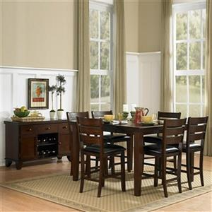 Homelegance Ameillia 24 In Dark Oak Dining Chair Set Of 2
